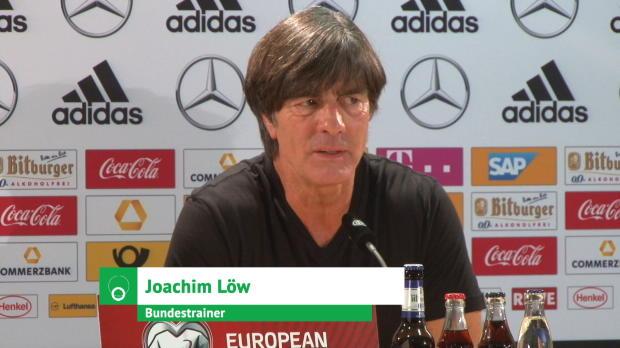 """WM-Quali: Löw zu Werner: """"Brutaler Zug zum Tor"""""""