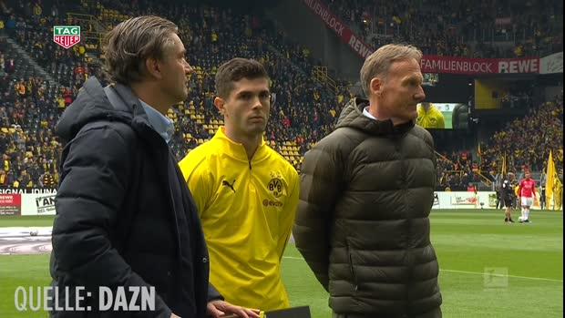 Pulisic verabscheidet sich von BVB-Fans
