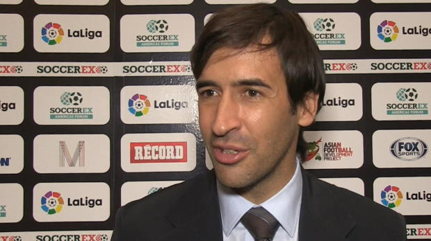 """Raúl: """"Lo del Leicester ha sido algo magnífico"""""""
