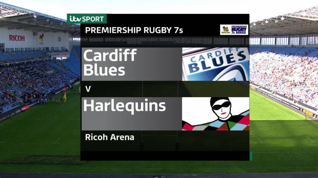 Aviva Premiership - Singha Rugby 7s - Plate Final - Cardiff Blues v Harlequins
