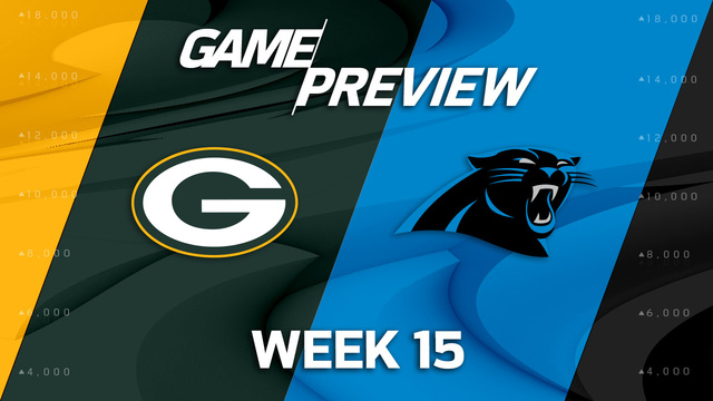 Green Bay Packers vs. Carolina Panthers preview | 'NFL Playbook'