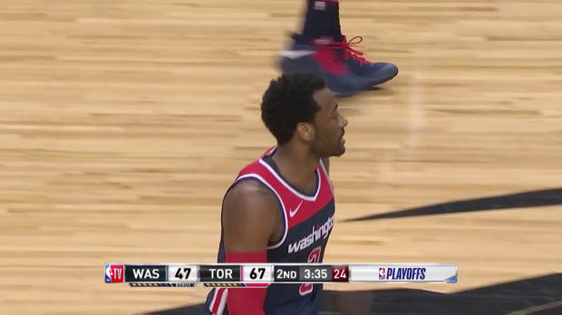 WSC: John Wall 29 points vs the Raptors