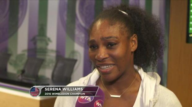 "Wimbledon: Serena mit ""perfektem Abschluss"""