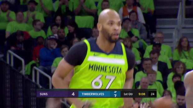 WSC: Karl-Anthony Towns (28 points) Highlights vs. Phoenix Suns