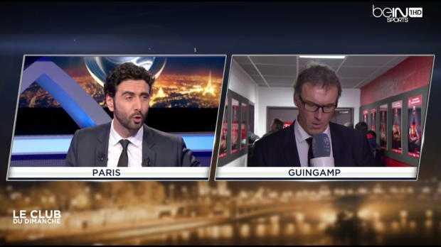 """Laurent Blanc : """"Une équipe pas concentrée sur son match"""""""