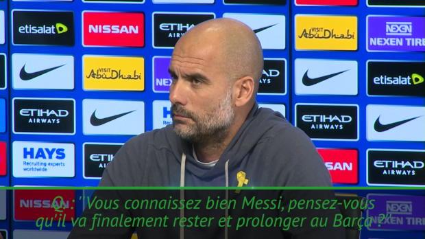 Transferts - Guardiola - 'Nous voulons tous que Messi prolonge au Barça'