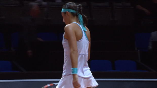 L1 : WTA - Stuttgart - Garcia prend la porte