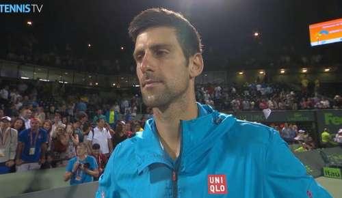 Djokovic Interview: ATP Miami QF