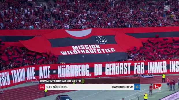 2. Bundesliga: 1. FC Nürnberg - Hamburger SV   DAZN Highlights (CH)