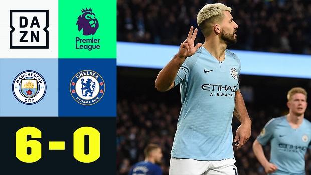 Premier League: Manchester City - Chelsea | DAZN Highlights