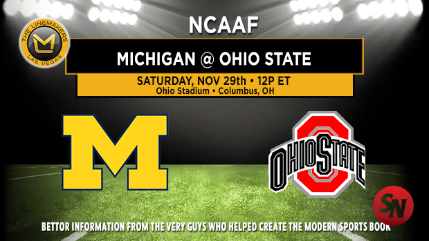Michigan Wolverines @ Ohio State Buckeyes