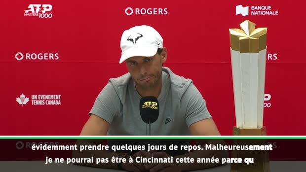 """Basket : Montréal - Nadal - """"Le plein de confiance pour l'US Open"""""""