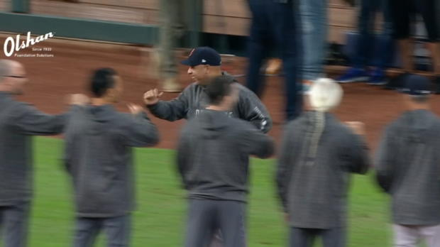 Red Sox's lineup introduced