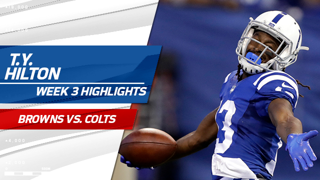 Indianapolis Colts wide receiver T.Y. Hilton highlights | Week 3