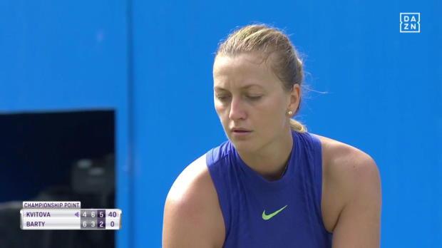 Birmingham Finale: Kvitova siegt!