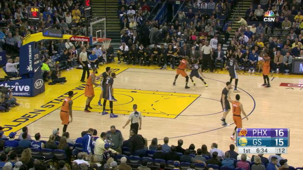 WSC: 3 pointers mix clip of Thompson Curry Bledsoe in Golden State Warriors vs the Suns