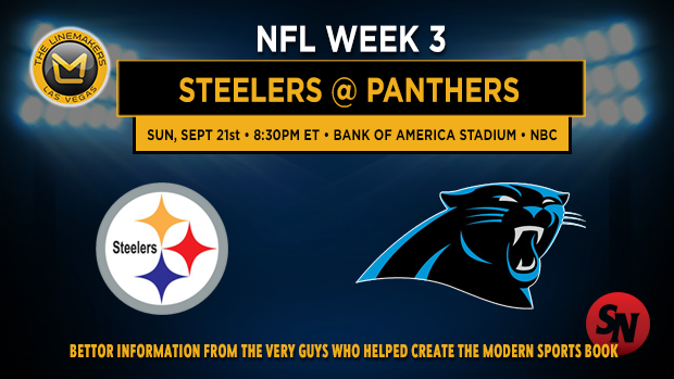 Pittsburgh Steelers @ Carolina Panthers