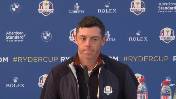 """Ryder Cup: McIlroy: """"Stehen alle zusammen"""""""
