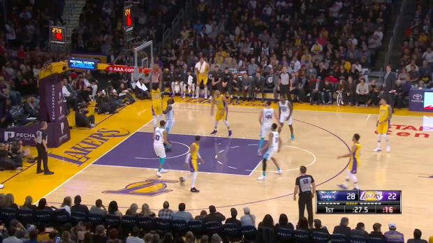 Assist of the Night: Jordan Clarkson