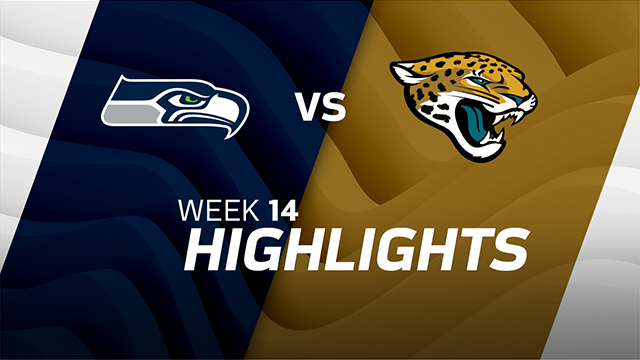 Seattle Seahawks vs. Jacksonville Jaguars highlights | Week 14