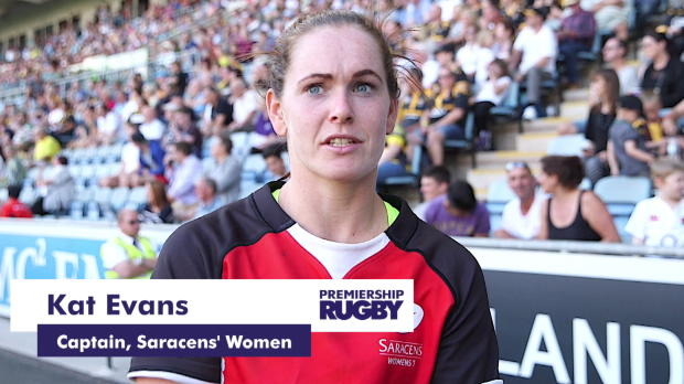 Aviva Premiership - Saracens' Women create history at Singha 7s Final
