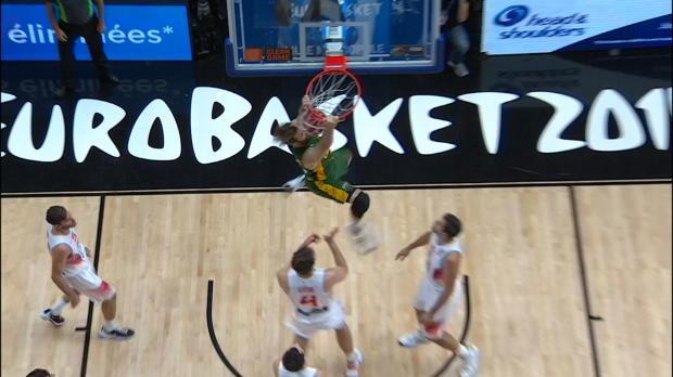 Spain v Lithuania - Best Dunk 2 - FIBA EuroBasket 2015