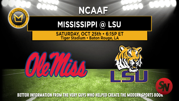 Ole Miss Rebels @ LSU Tigers
