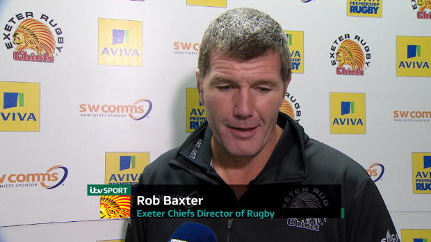 Aviva Premiership - Rob Baxter Interview