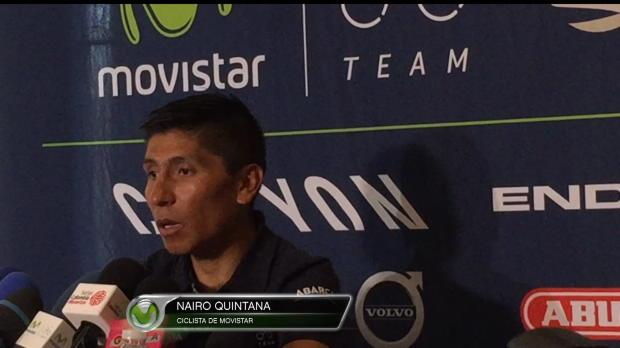 """Nairo Quintana saca pecho del Movistar: """"Llevamos el año más brillante de nuestra historia"""""""