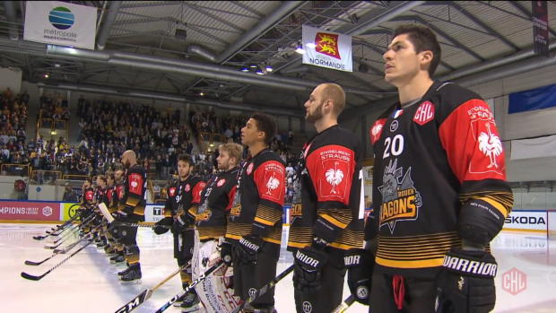 Rouen Dragons - Nürnberg Ice Tigers
