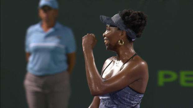 WTA - Miami - Venus Williams s'offre Kerber et un record