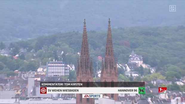 2. Bundesliga: SV Wehen Wiesbaden - Hannover 96   DAZN Highlights