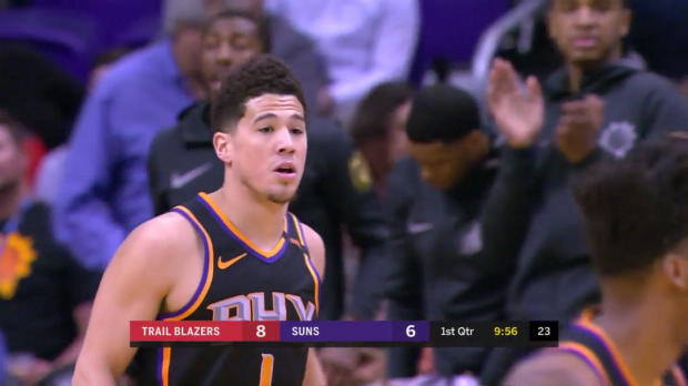 WSC: Devin Booker (30 points) Highlights vs. Portland Trail Blazers