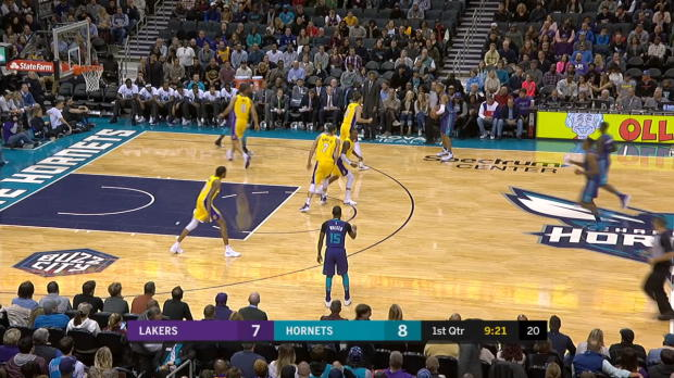 GAME RECAP: Lakers 110, Hornets 99