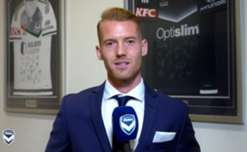Oliver Bozanic recorded this message for Melbourne Victory members and fans before leaving to join Ventforet Kofu.