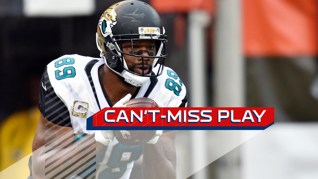 Can't-Miss Play: Blake Bortles sells play fake, hits Marcedes Lewis for TD