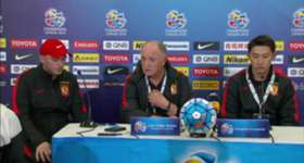 Coach Luiz Felipe Scolari conceded Sydney FC deserved to beat his Guangzhou Evergrande side on Wednesday night.