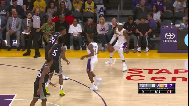 WSC: LeBron James Posts 29 points 11 assists and 11 rebounds vs Sacramento Kings