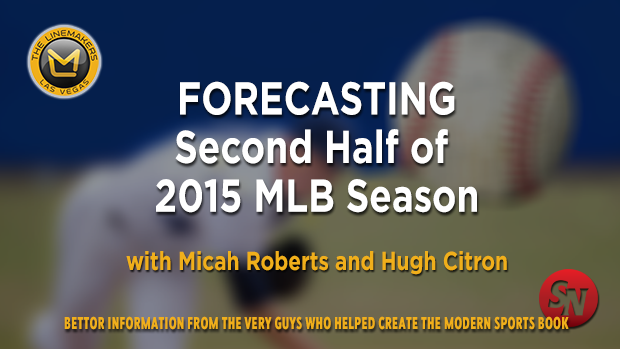 Forecasting the Second Half of the MLB Season