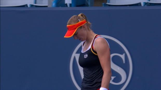 Tennis : Cincinnati - Kerber tombe face à Makarova
