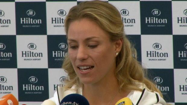 "US Open: Kerber: ""Rio mein Kindheitstraum"""