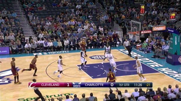 WSC: LeBron James with 11 Assists against the Hornets