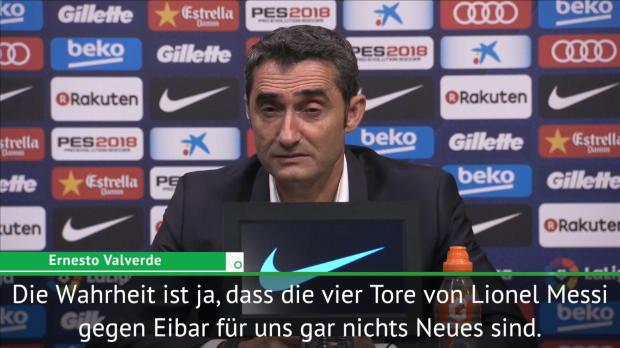 """Valverde zu Messis Viererpack: """"Nichts Neues"""""""