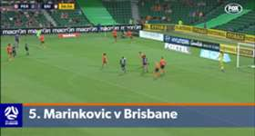 Take a look back at Perth Glory's 'toughest' goals from the Hyundai A-League 2016/17 season.