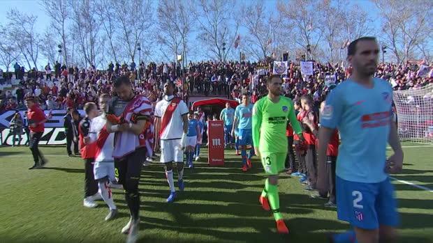 LaLiga: Rayo Vallecano - Atletico Madrid | DAZN Highlights