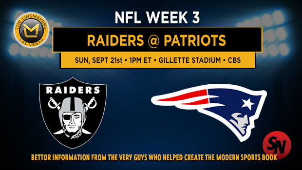 Oakland Raiders @ New England Patriots