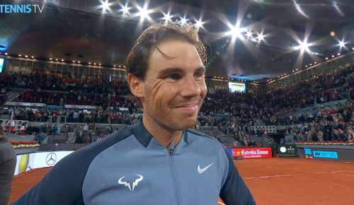 Nadal Interview: ATP Madrid 3R