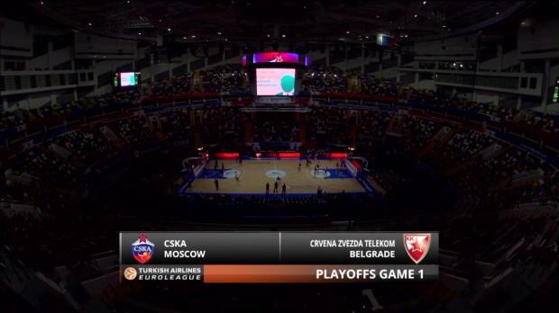 Highlights: CSKA Moscow-Crvena Zvezda Telekom Belgrade