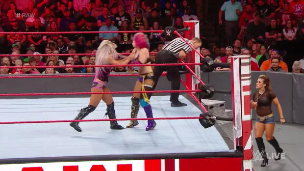 Asuka vs. Alexa Bliss: Raw, March 19, 2018
