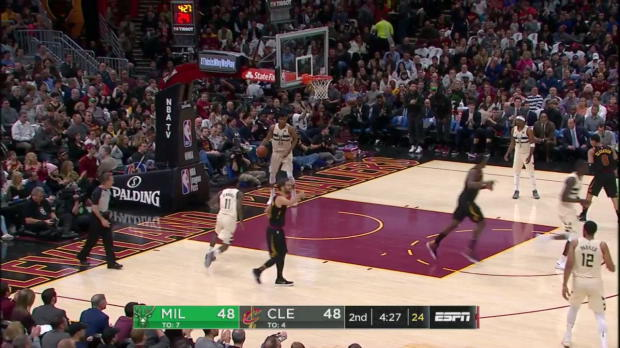 WSC: LeBron James (40 points) Highlights vs. Milwaukee Bucks